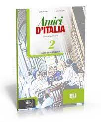 Naslovnica: AMICI D'ITALIA 2 PLUS quaderno + Audio CD