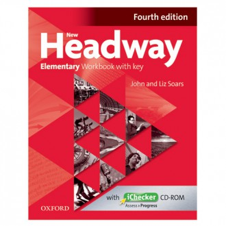 Naslovnica: New Headway 4th Edition Elementary WB