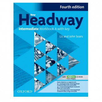 Naslovnica: New Headway 4th Edition Intermediate WB A