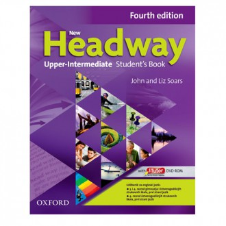 Naslovnica: NEW HEADWAY FOURTH EDITION UPPER-INTERMEDIATE STUD