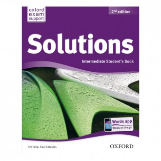 Naslovnica: SOLUTIONS 2nd ED INTERMEDIATE SB