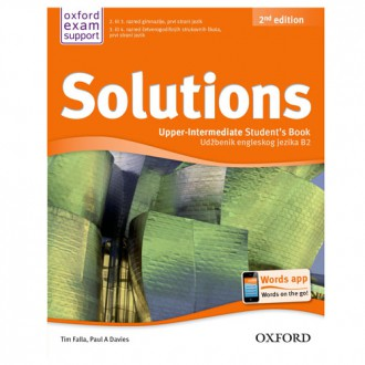 Naslovnica: SOLUTIONS 2nd ED UPPER-INTERMEDIATE SB