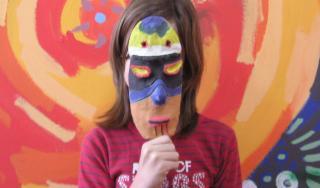 Maska inspirirana afričkom tradicijom