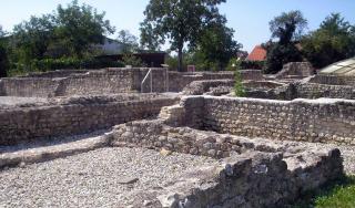 Ostaci rimskog naselja Andautonia u selu Šćitarjevo kraj Velike Gorice (foto: Fraxinus)