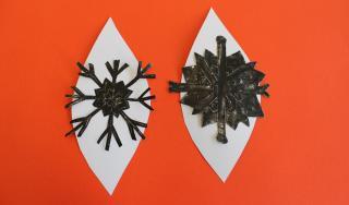 Izrada kuglica za bor prema motivu vodenih kristala