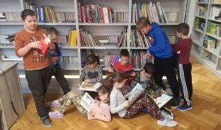 Nova knjižnica OŠ Čiče