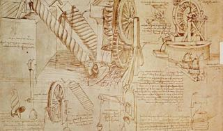 Da Vincijeva skica vertikalne bušilice