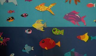 Podmorje, skupni rad polaznika umjetničkih radionica Artmix