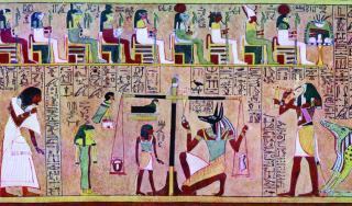 Prikaz iz egipatske Knjige mrtvih