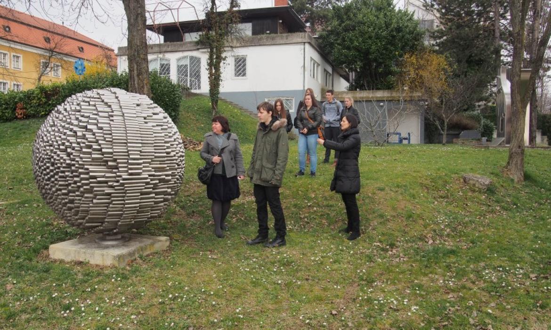 Zbirka Richter, Park skulptura