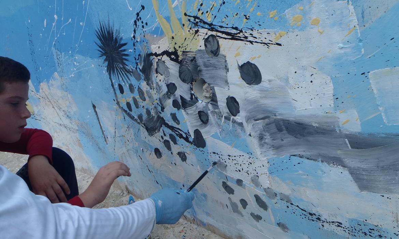 Korčula_oslikani zid