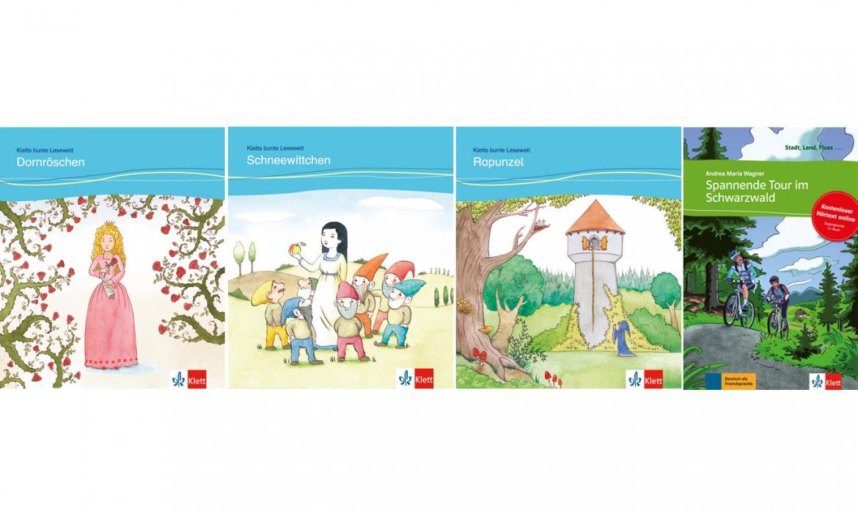 Didaktizirane bajke i knjige za mlade na njemačkom jeziku, Klett