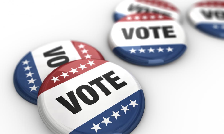 Bedževi s pozivom na glasanje