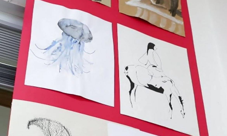 Crtački radovi učenika OŠ Samobor