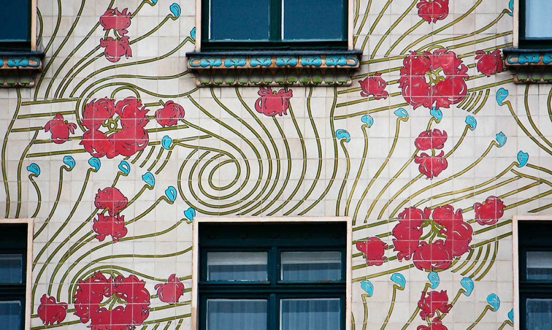 Otto Wagner, Kuća Majolika