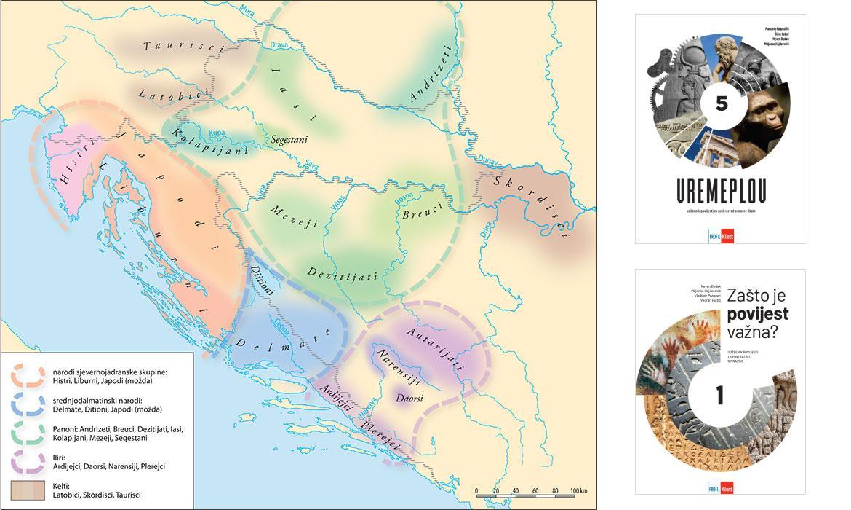 Domorodački narodi na prostoru Hrvatske početkom 1. stoljeća