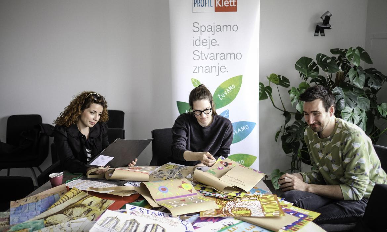 Umjetnički žiri: Andrea Sužnjević, Tena Letica, Zlatan Vehabović; foto: Sanjin Kaštelan