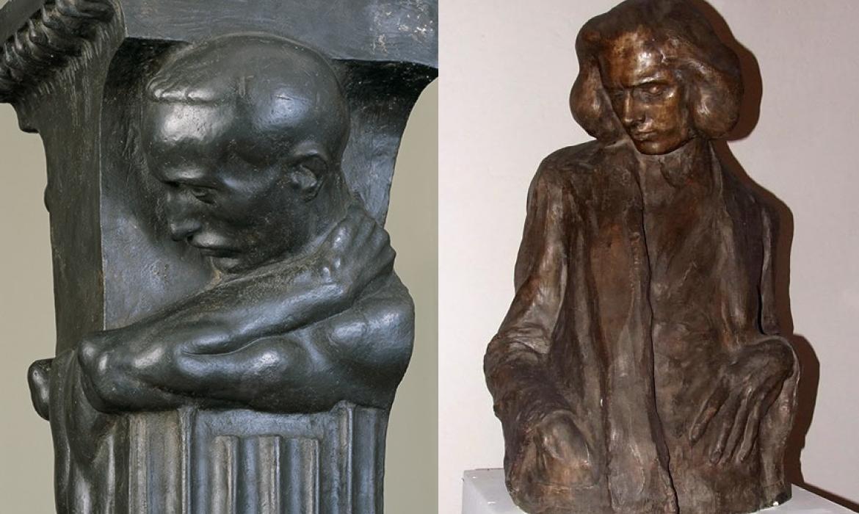 Ivan Meštrović, Dekorativni postament; bista Tomislava Krizmana, 20. st.