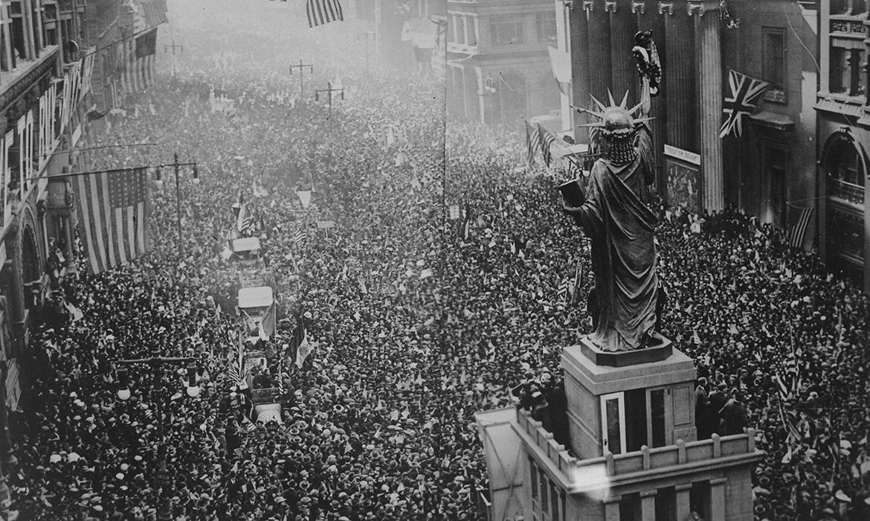 Proslava kraja rata
