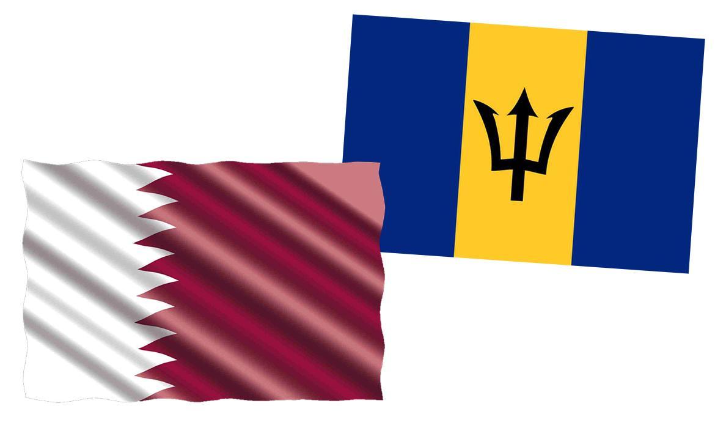Zastave Barbadosa i Katara