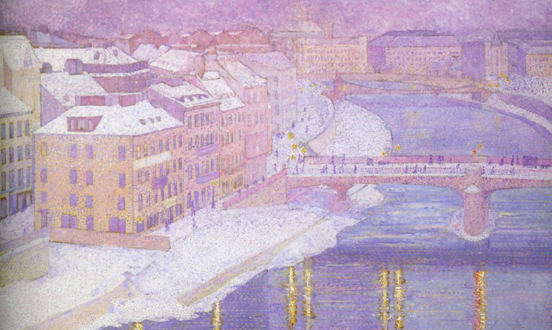 Franz Jasche, Dolina Dunava, 1903.