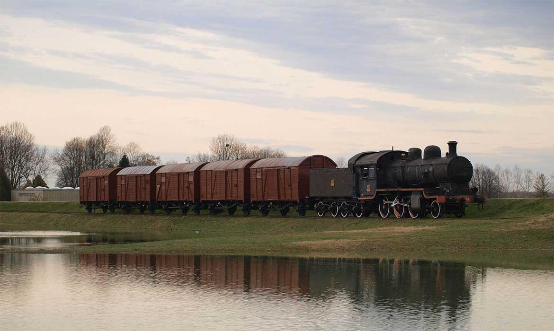 Vlak kakvim su u Jasenovac dopremani logoraši