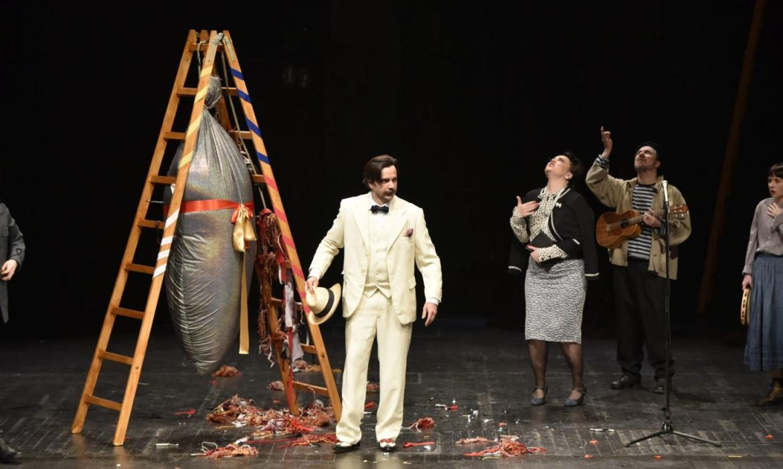 Iz predstave Zora riđokosa, izvor: Kazalište Trešnja