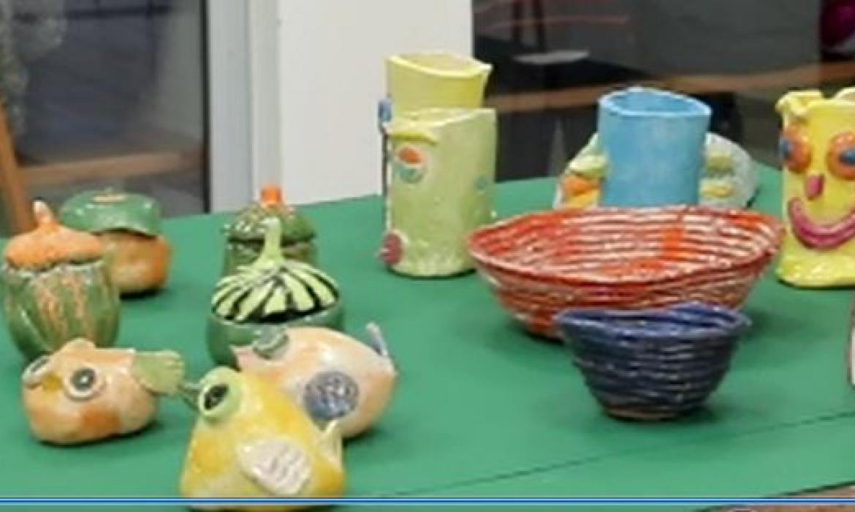 Keramičarski radovi posebnog odjeljenja OŠ Samobor