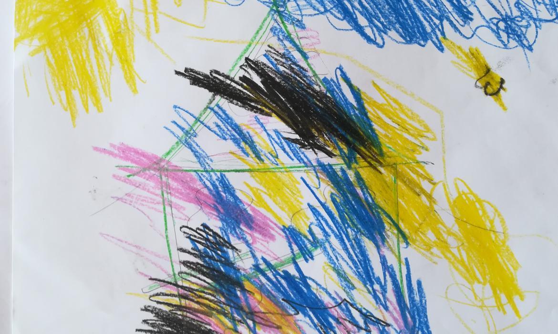 Kuća, crtež flomasterima, učenik N. K., 7. r.