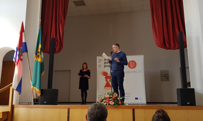 Miroslav Mićanović na 56. Goranovu proljeću, 2019.