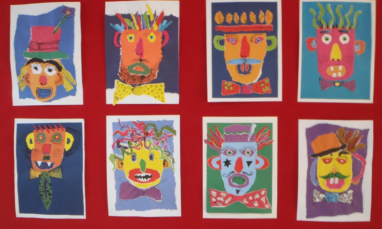 Maske od kolaž-papira