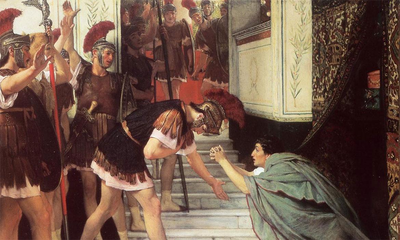 Proglašenje Klaudija carem (Lawrence Alma-Tadema, 1867.)