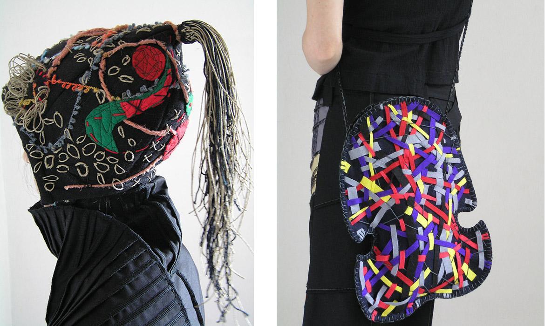 Primjer tekstilnog dizajna, Josipa i Marijana Bronić, tekstilne dizajnerice iz Zagreb