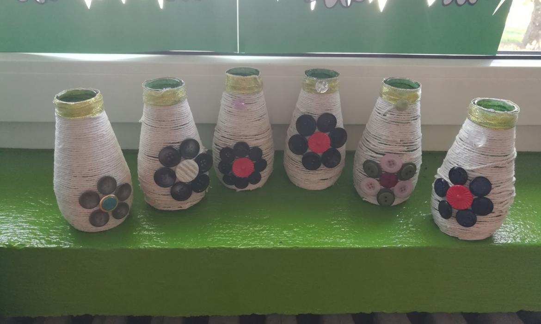 Učenički radovi - vaze
