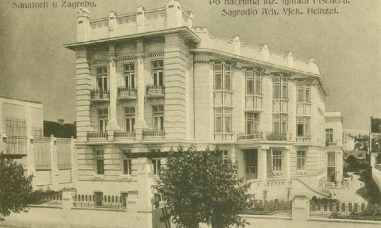 Ignjat Fischer, Poliklinika Sanatorij, Zagreb