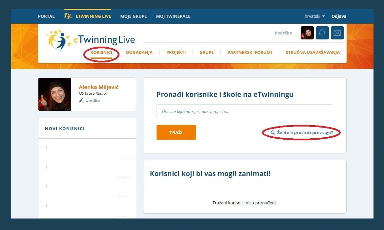 Slike profila web mjesta